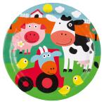 "8 Plates Farm Fun Paper 9"""