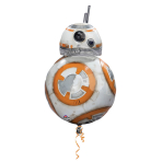 SuperShape Star Wars Episode VII BB8 Foil Balloon P38 Packaged 50 x 83 cm