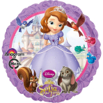 Standard Sofia the First Foil Balloon S60 Bulk 43 cm