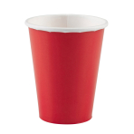 8 Cups Apple Red Paper 266 ml