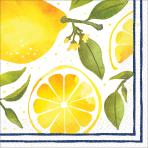 16 Napkins Lemons 33 x 33 cm