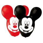 4 Latex Balloons Mickey Giant Ears 55.8cm/22""