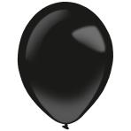 "50 Latex Balloons Decorator Fashion Jet Black 35 cm / 14"""