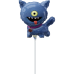 Mini Shape Ugly Dolls Ugly Dog Foil Balloon A30 airfilled