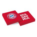 20 Napkins FC Bayern Munich 33 x 33 cm