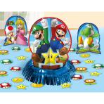 Table Decorating Super Mario  Paper / Foil 23 Pieces 31.7   cm/ 17.7 cm / 5 cm