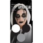 Aqua Gothic Glam Kit (3 x Face Paint 3.5 g / 1 Brush / 2 Sheets Tattoos)