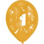 8 Latex Balloons Age 1 2 SidedPrint 25.4 cm/10''