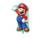 SuperShape Super Mario Foil Balloon P38 Packaged 55 x 83 cm
