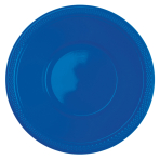 10 Bowls Plastic Bright Royal Blue 355ml