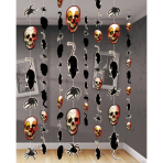 8 String Decorations Creepy Carnevil 180 cm