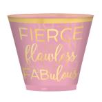 30 Cups Confetti Fun Plastic 266 ml