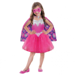 Girls' Costume Barbie Power Princess 5 - 7 Years