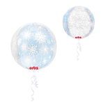 Orbz Frozen Snowflakes Foil Balloon G20 Packaged