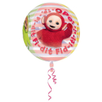 "Orbz ""Teletubbies"" Foil Balloon Clear, G40, packed, 38x40 cm"