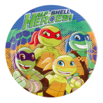 8 Plates Half Shell Heroes, 23cm
