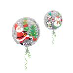 Standard Snowman & Penguins Foil Balloon S40 Packaged