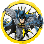 Standard Batman Foil Balloon S60 Packaged