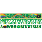 4 Letter Banners St. Patrick'sDay