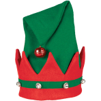 Hat with Bells Elf One Size
