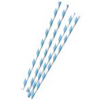 12 Paper Straws Oktoberfest 19,7 cm