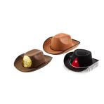 Cowboy Hat Children Ranger Assorted Fabric / Plastic One Siz