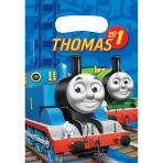 6 Party Bags Thomas & Friends Plastic 24.6 x 16.4 cm