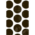 10 Paper Bags Polka Dots Black 11.3 x 17.7 cm