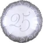 Standard Silberhochzeit 25 Jahre S40 Packaged 43 cm