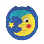 Lantern Moon with Hat Paper 25 cm