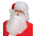 Costume Accessory Set Wig & Beard Santa One Size 2 Pieces