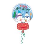 """Junior Shape """"Snow Globe"""" FoilBalloon"""", S50, packed, 38x50  cm"""