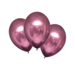 "6 Latex Balloons Satin Luxe Flamingo 27.5cm/11"""