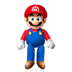 AirWalker Mario Bros Foil Ballon, P93, packed, 91x152 cm
