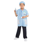 Child Costume Kit Veterinarian 6 Pieces Age 4 - 6 Years