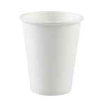20 Cups Frosty White Paper 266 ml