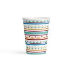 8 Cups Tepee & Tomahawk Pattern 250ml