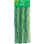 24 Necklaces St. Patrick's Day Plastic 76.2 cm