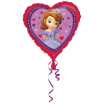 Standard Sofia the First Love Foil Balloon S60 Packaged 43 cm