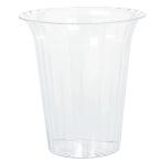 Cylinder Container Flared     Plastic Round Medium 14.3 x   14.9 cm