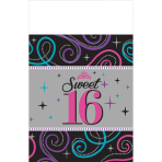 Table Cover Sweet 16
