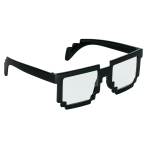 Fun Shades Pixel Black Plastic 14.6 x 4.7 cm