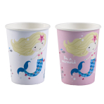 8 Cups Be a Mermaid Paper 250 ml