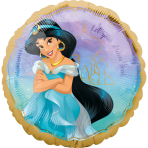 Standard Jasmine Once Upon A Time Foil Balloon circle S60 packaged