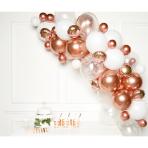 DIY Balloon Garland Rose Gold 66 Balloons