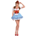 Ladies' Costume Oktoberfest Girl Size L