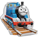 SuperShape Thomas the Tank Foil Balloon P38 Packaged 74 x 69cm