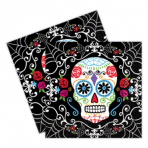 20 Napkins Day of the Dead 33 x 33 cm