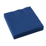 20 Napkins Navy Flag Blue 33 x33 cm