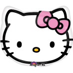 JuniorShape Hello Kitty Head Foil Balloon S60 Packaged 43 cm